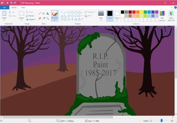 """Annunciata nel 2017, la """"morte"""" di Paint ha scatenato la rivolta degli utenti"""