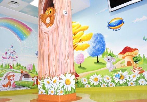 L'arte negli ospedali pediatrici