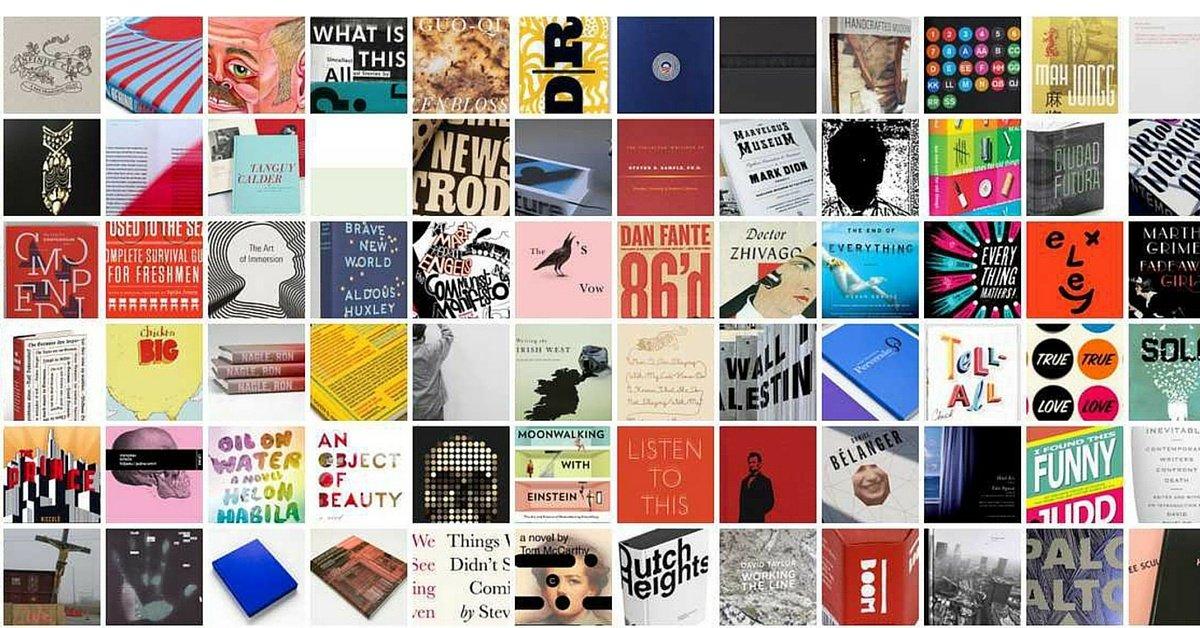 La storia delle copertine dei libri