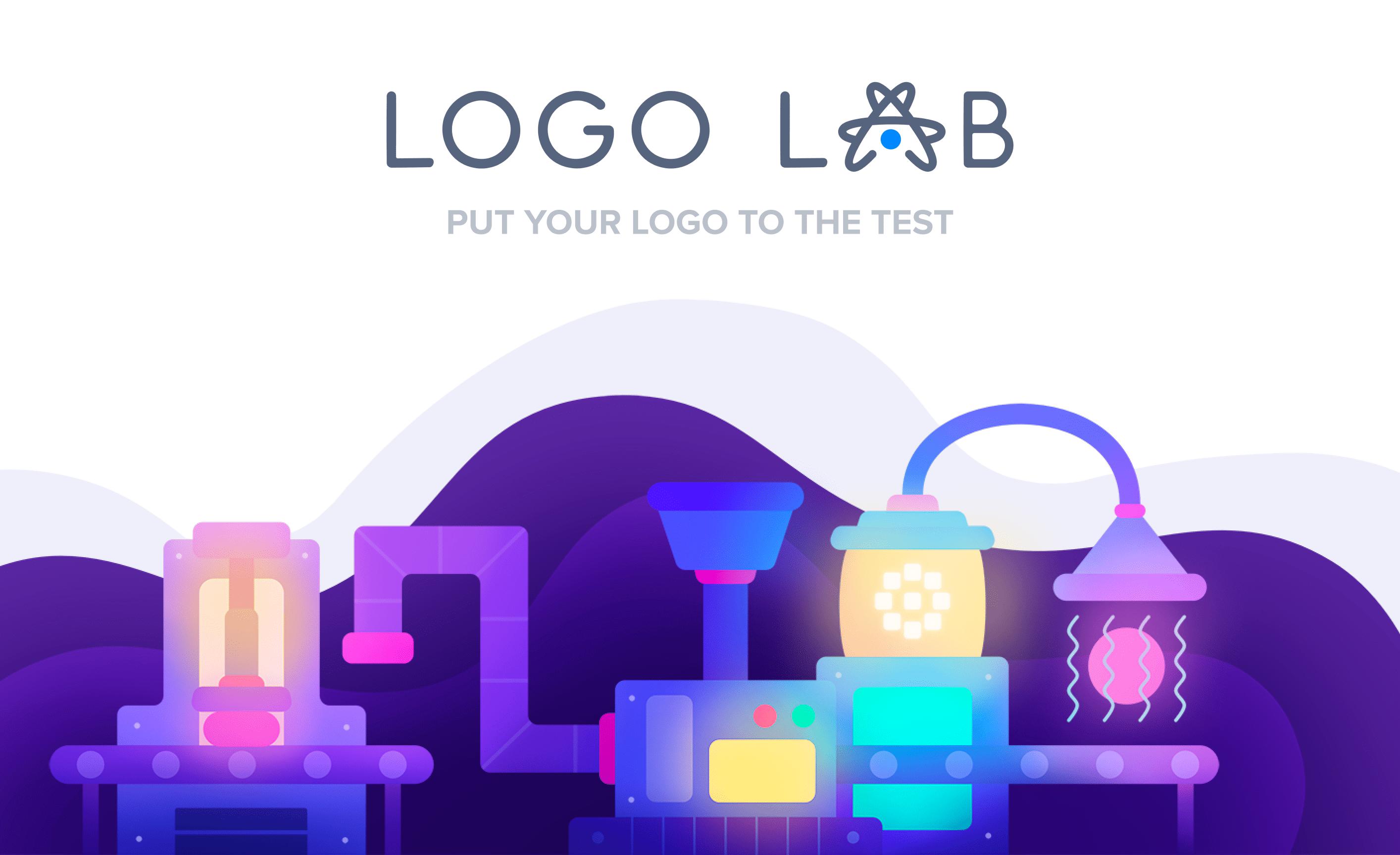 test logo efficace