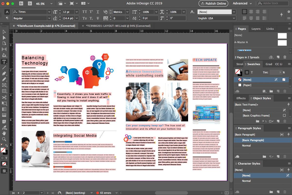 Photoshop, Illustrator o InDesign