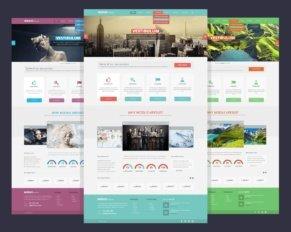 Template grafici per siti Web