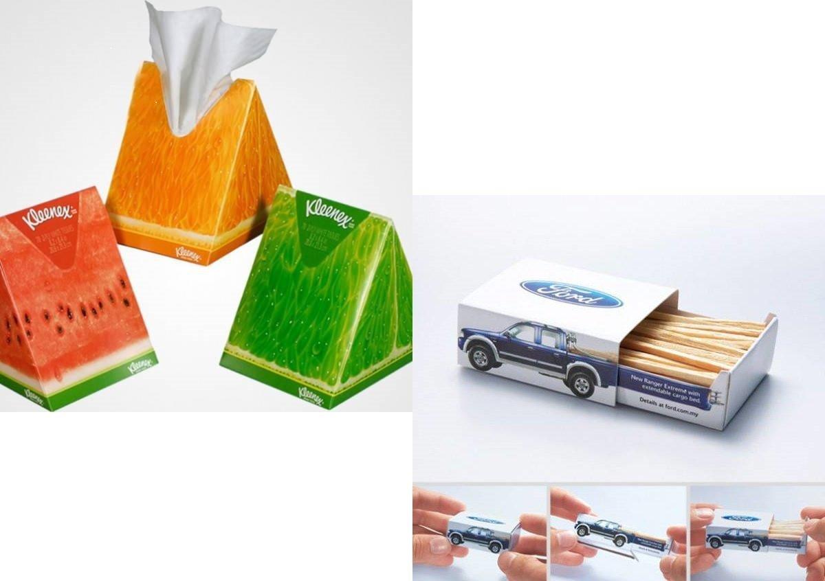 packaging più curiosi