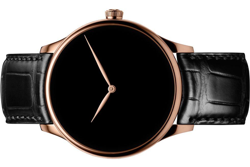 Il creatore di orologi di lusso H. Moser ha utilizzato il Vantablack per realizzare un orologio da polso unico.