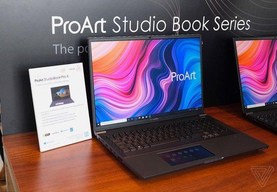 Asus ProArt StudioBook, i notebook per artisti