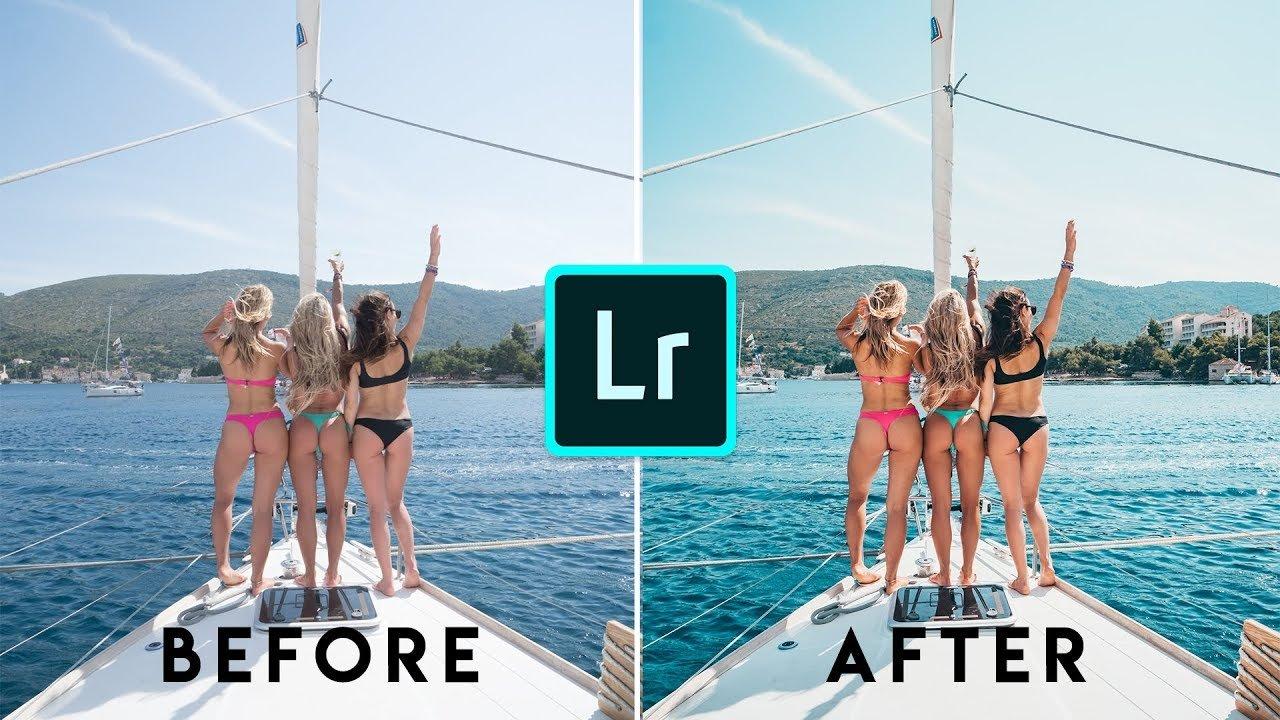 lightroom filtri e modifiche pro