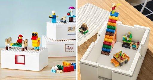 Lego e Ikea