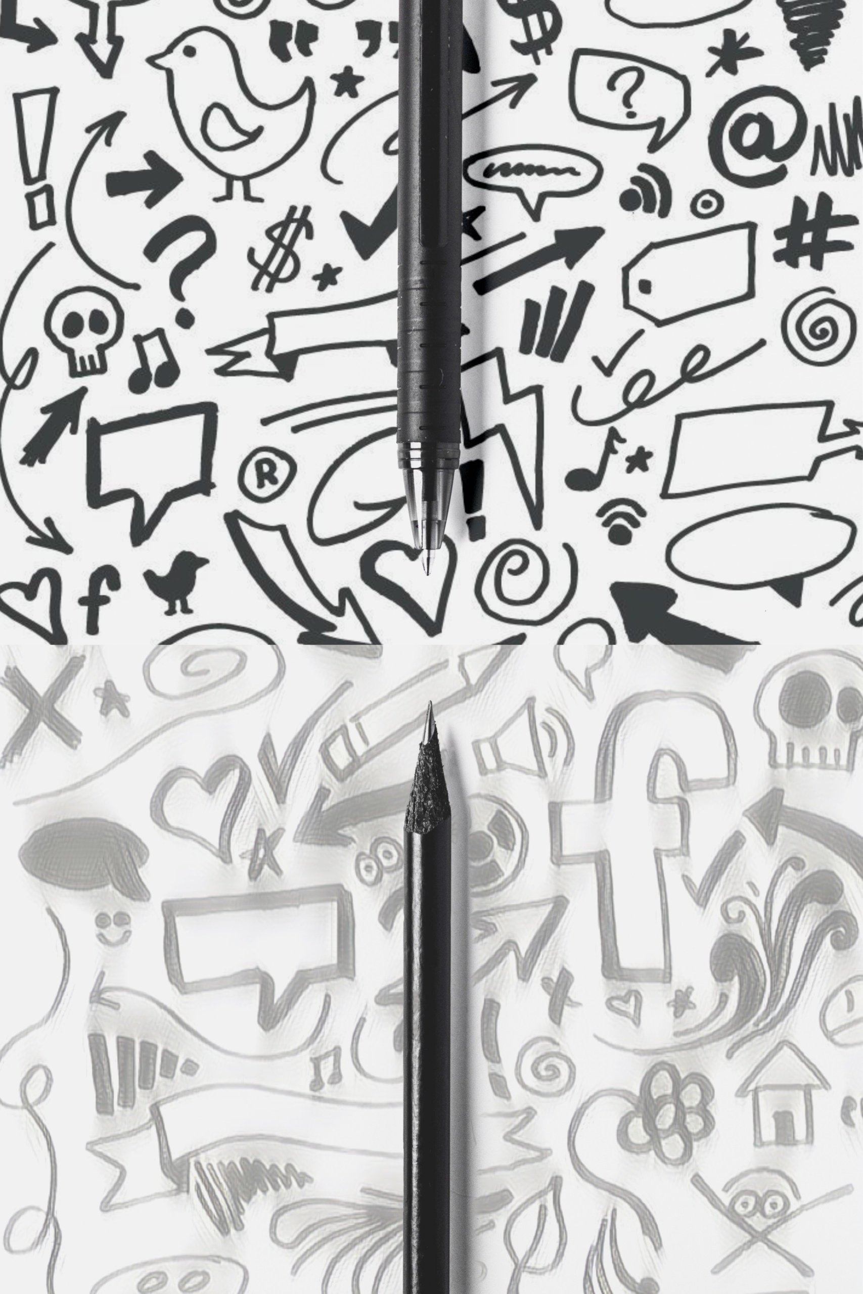 penna a sfera per disegnare