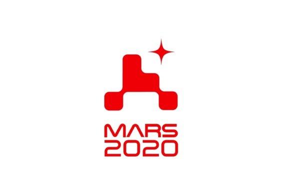 Il logo della missione su Marte