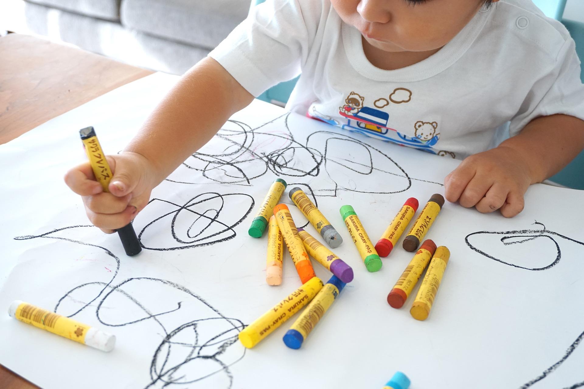 montessori arte del disegno