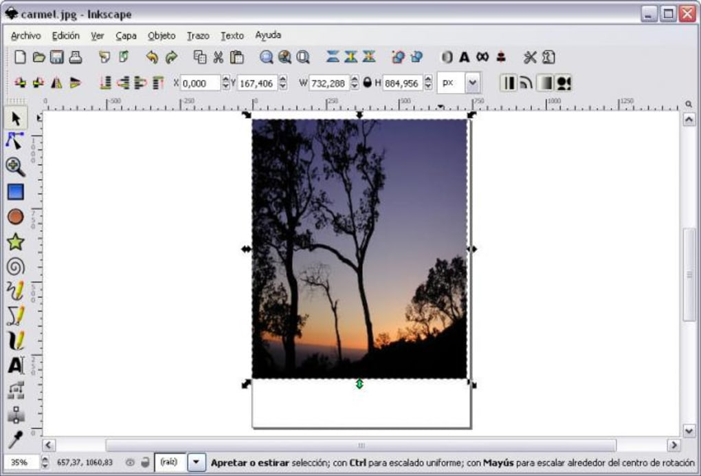 fotoritocco inkscape
