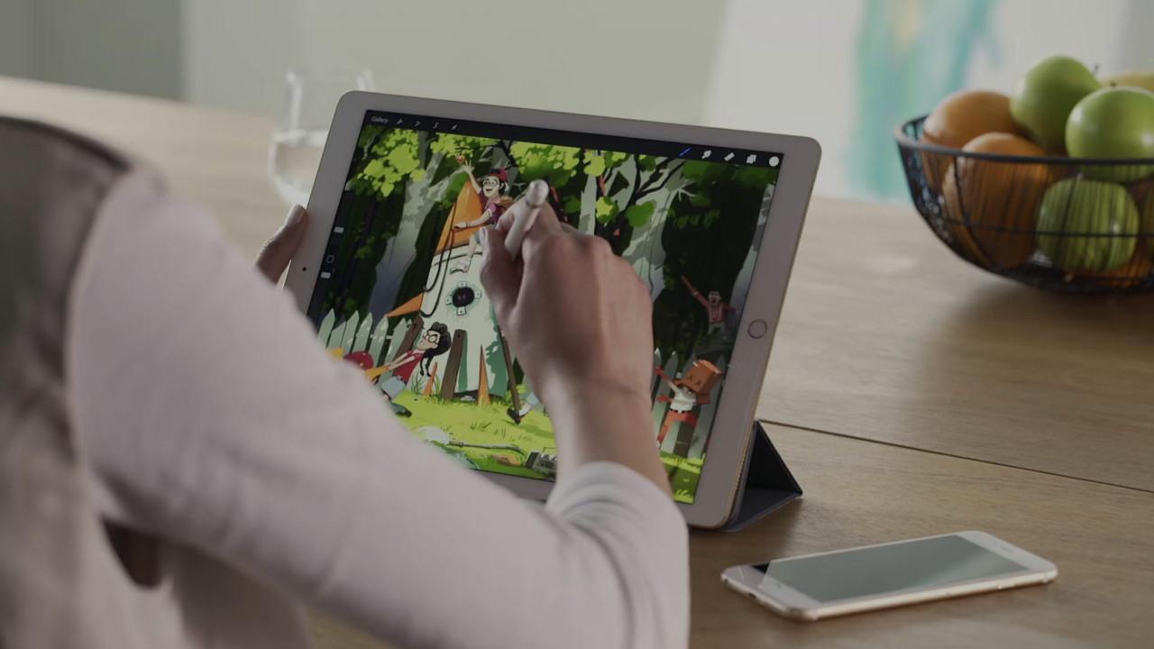 Il nuovo Apple iPad Pro è perfetto per la grafica