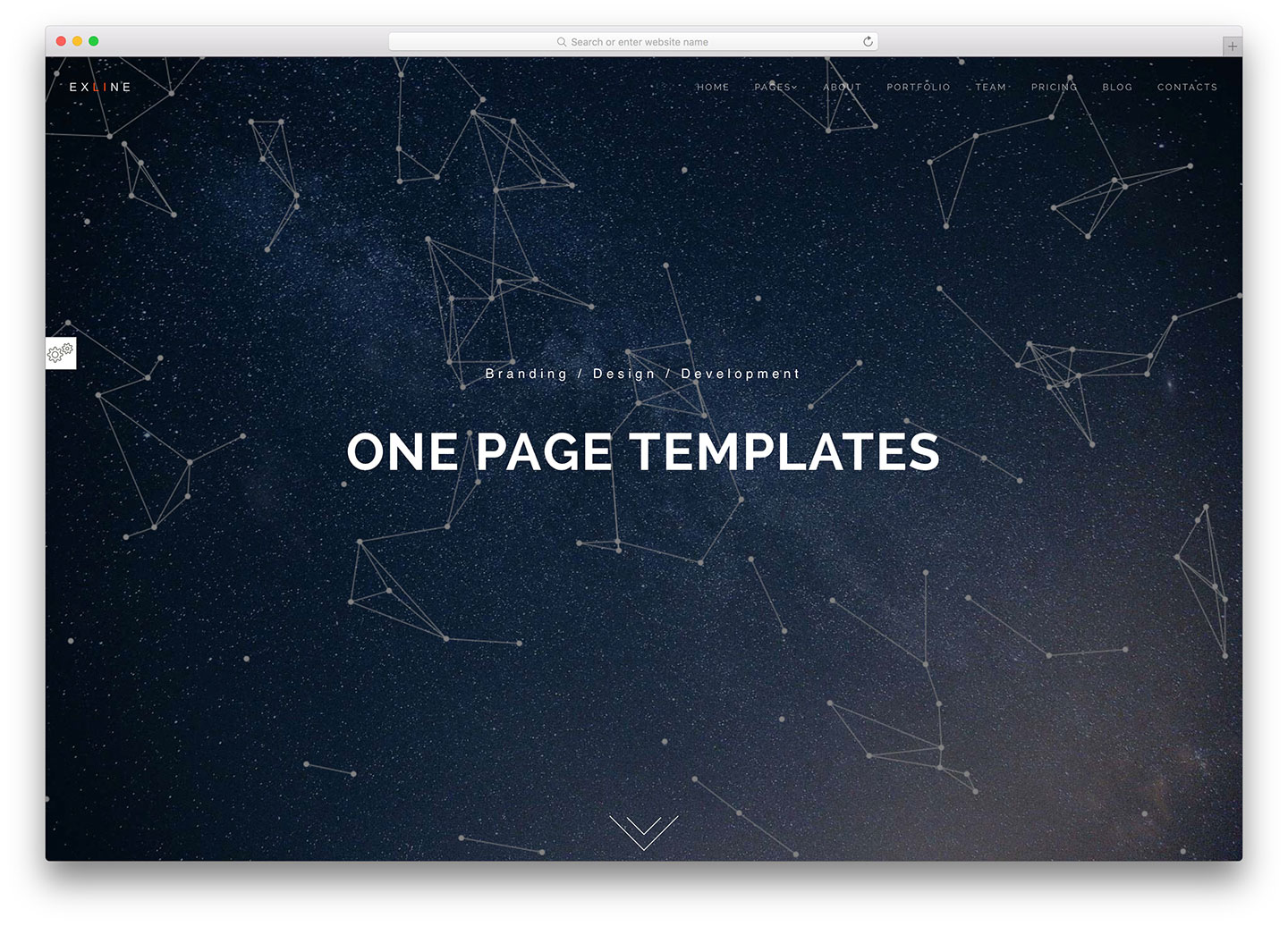 One page design efficaci