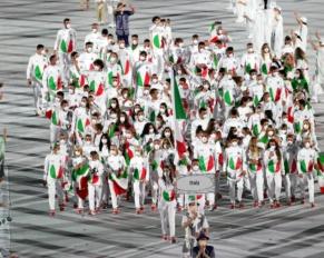 La divisa degli azzurri alle Olimpiadi