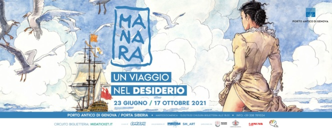 Milo Manara a Genova