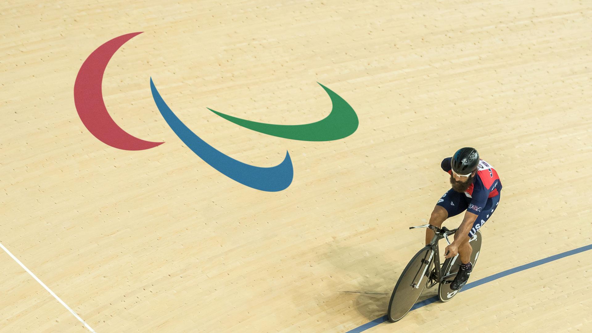 Logo paralimpiadi
